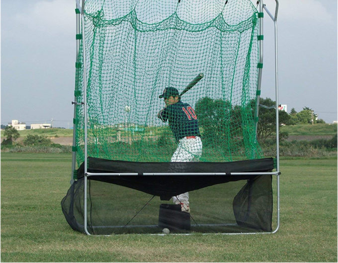 Promark(プロマーク) 野球 ソフトボール トレーニング バッティングネット バッティングトレーナー ネット連続 HTN-88