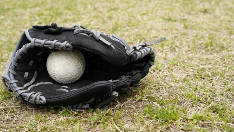 送球を完全捕球したかが問題になる場合
